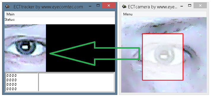 Capturing video fragment with the target window