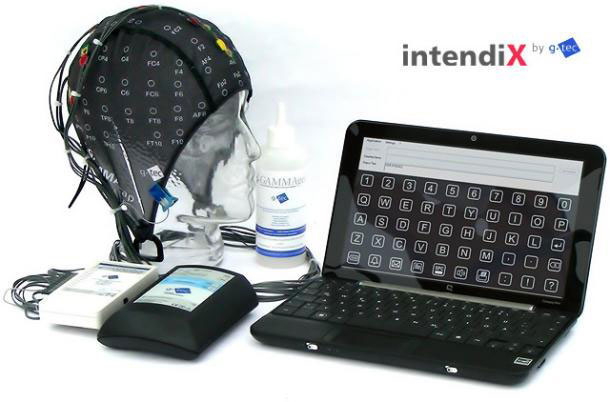 Indendix EEG lets you type with your brain